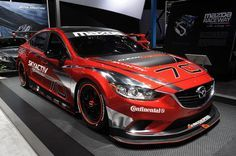 Race car mazda 6