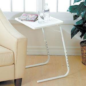Mesa plegable para Sofá. Ajustable en altura y plegable