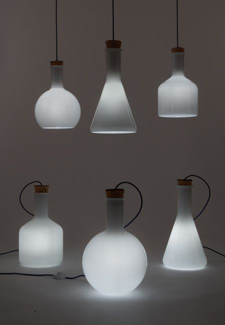 Labware by Benjamin Hubert: Lights Lamps, Labwar Lamps, Labwar Sphere, Labwar Lights, Benjamin Hubert, Design Lights, Labs Lights, Glasses Lights, Hubert Labwar