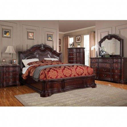 DICKSON CARSON BED   BED BEDROOM BED FRAME   Gallery Furniture   Houston  TX. 39 best Bed images on Pinterest   3 4 beds  Bed frames and Irons