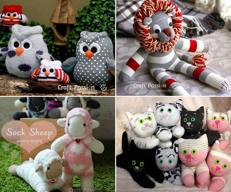 We've put together lots of Sock Animals that you are going to love to make. Check out all the free patterns and tutorials now.