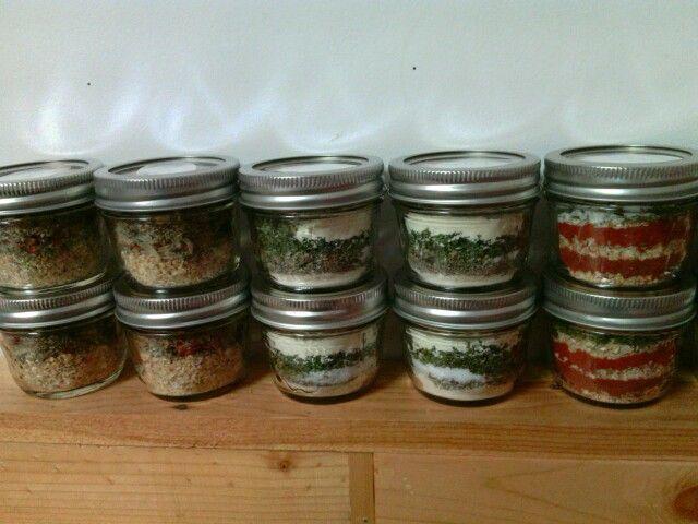 Assorted Homemade Seasonings