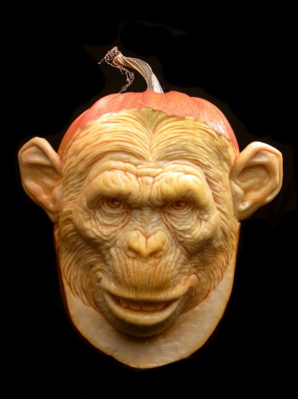 Amazing Pumpkin Carvings by Ray Villafane- these are INCREDIBLE!