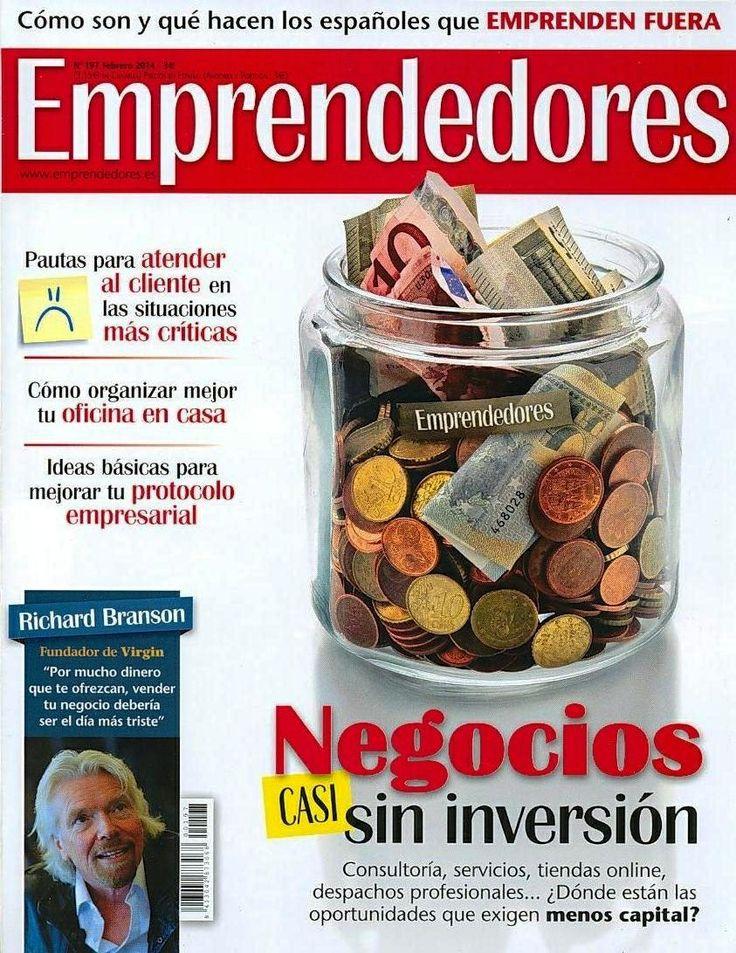 NEGOCIOS (Emprendedores : N° 197, febrero 2014) Revisa la tabla de contenido de la revista: http://www.emprendedores.es/revista/emprendedores-febrero-2014