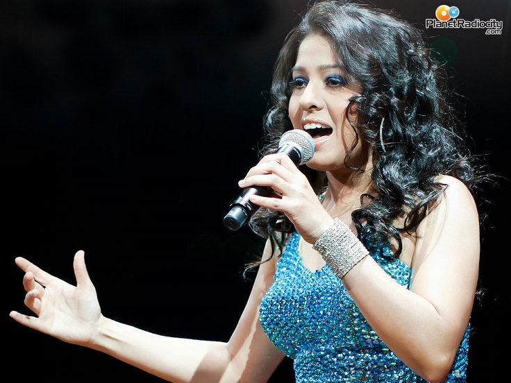 My fave singer Sunidhi Chauhan!