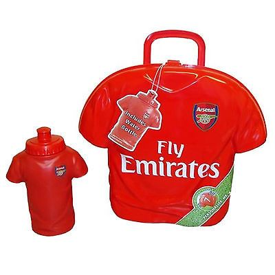 Arsenal lunch box football club #school kids #personalised boys team kit #sticker,  View more on the LINK: 	http://www.zeppy.io/product/gb/2/121105181297/