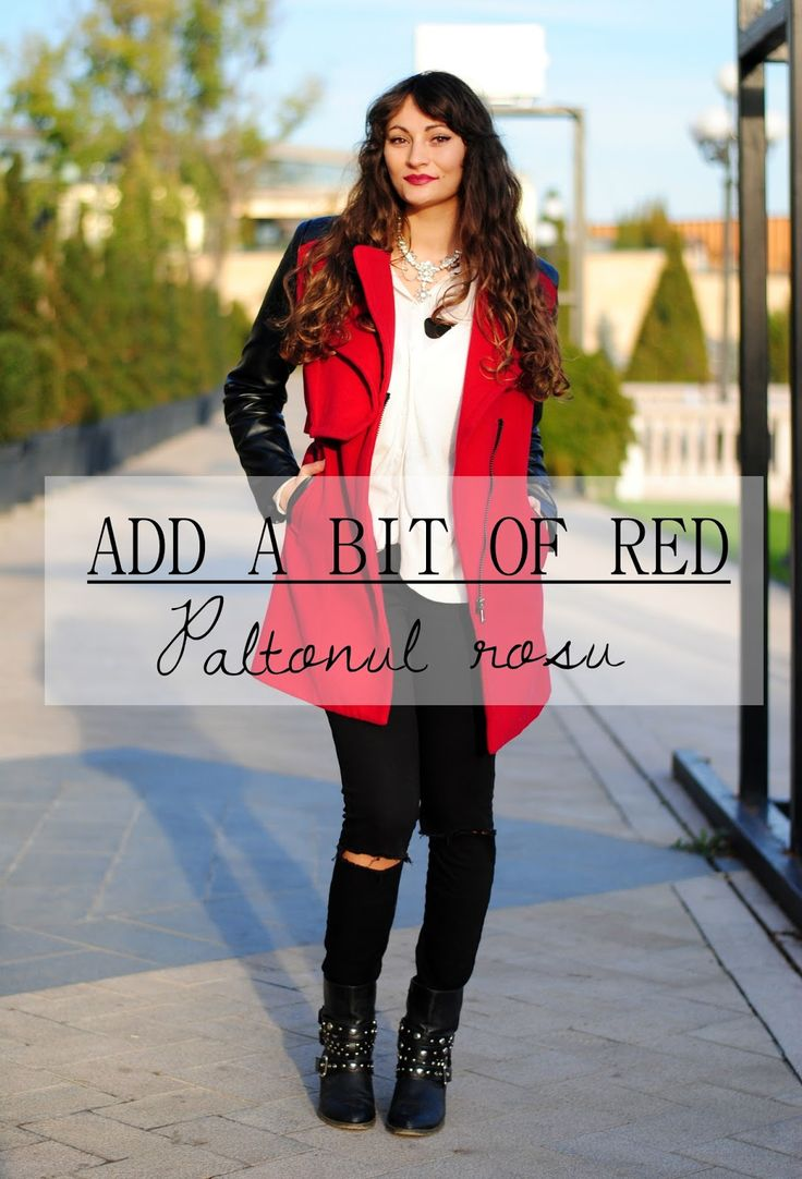 Add a bit of red | Paltonul rosu | Color Me RED