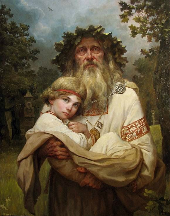 Artist Andrei Shishkin. Russian people of the earth | Paintings and Reproductions