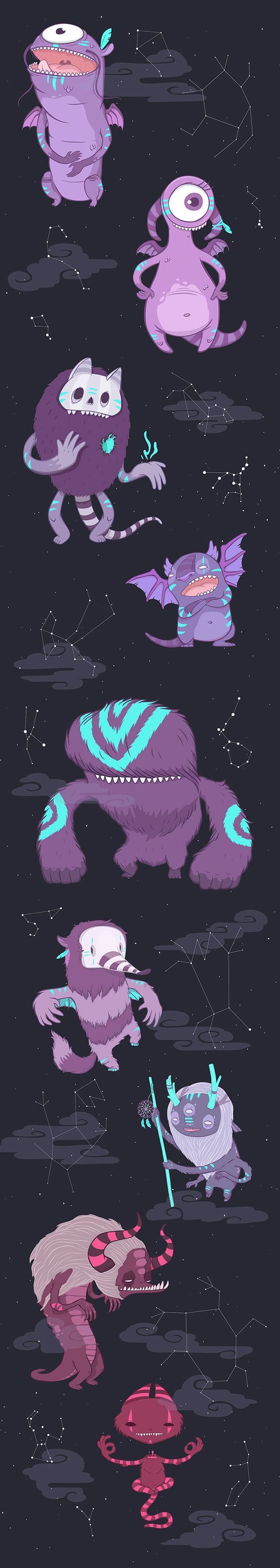 175 best monster images on Pinterest | Monster illustration ...
