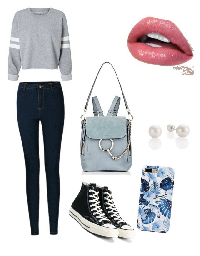"""""""Casual!"""" by loveiskeybeu on Polyvore featuring Vero Moda, Converse and Chloé"""