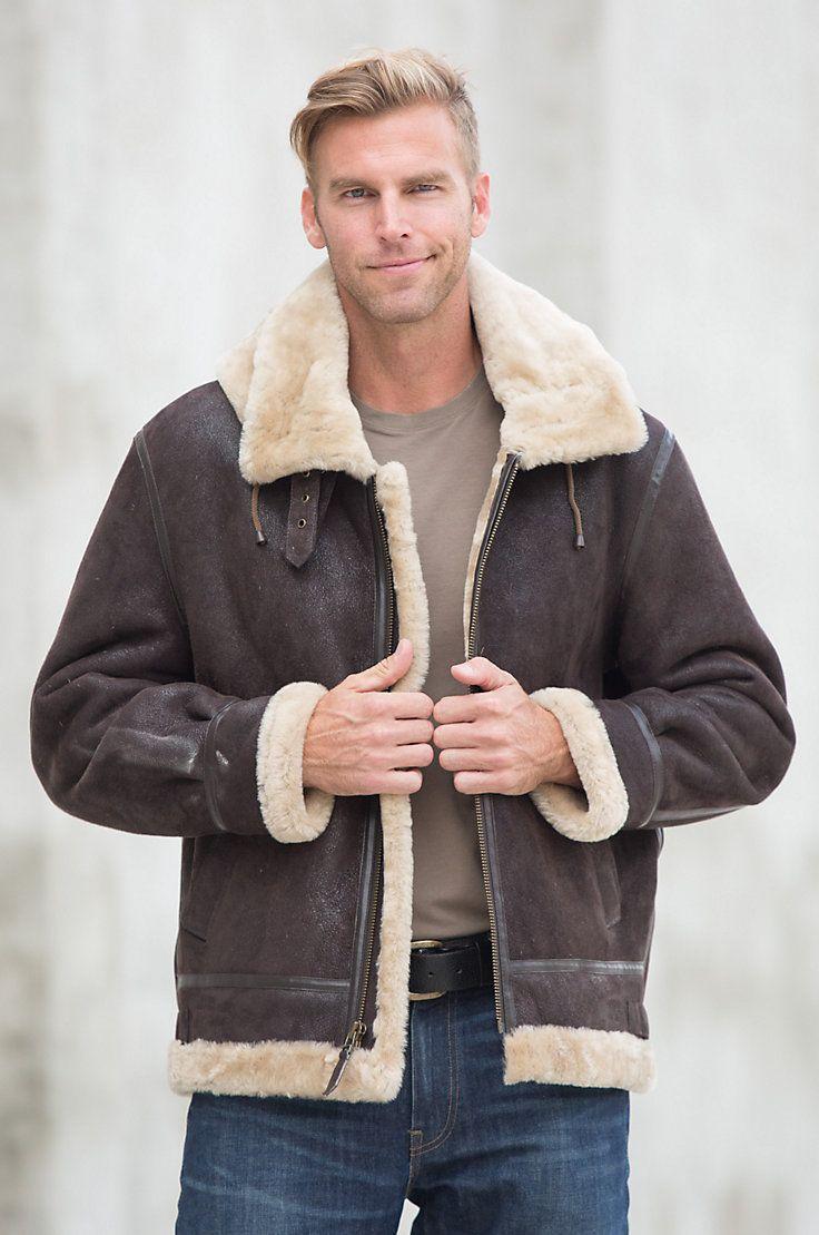 206 best Sheepskin jackets images on Pinterest   Sheepskin jacket ...