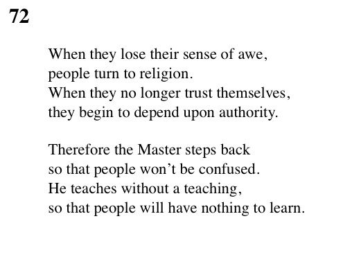essay on the tao te ching