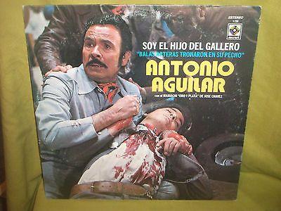 Antonio Aguilar Soy El Hijo Del Gallero Musart EX LP