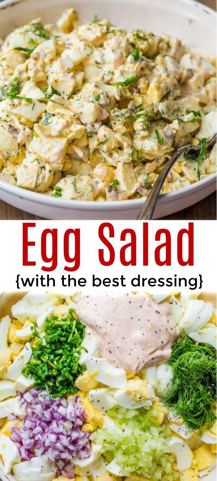 Egg Salad Recipe Best Egg Salad Recipe Egg Salad Recipe Salad Recipes