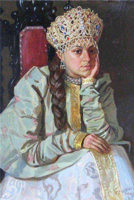 "Alexander Levchenko ""Maria Temrjukovna"""