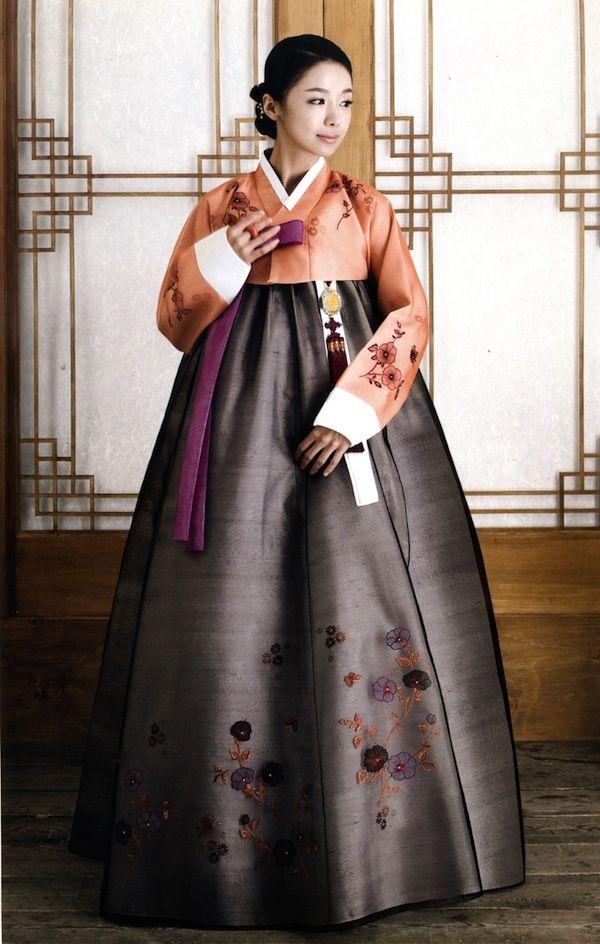 hanbok (한복) noun a korean traditional dress. Court...