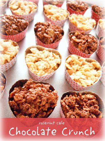 ホワイトデーにピッタリな、チョコとコーンフレーク、クッキーで出来る簡単レシピ! お子様と一緒に作っても♪ - 67件のもぐもぐ - 材料3つ♪簡単チョコクランチ by ローズミントさん by レシピブログ