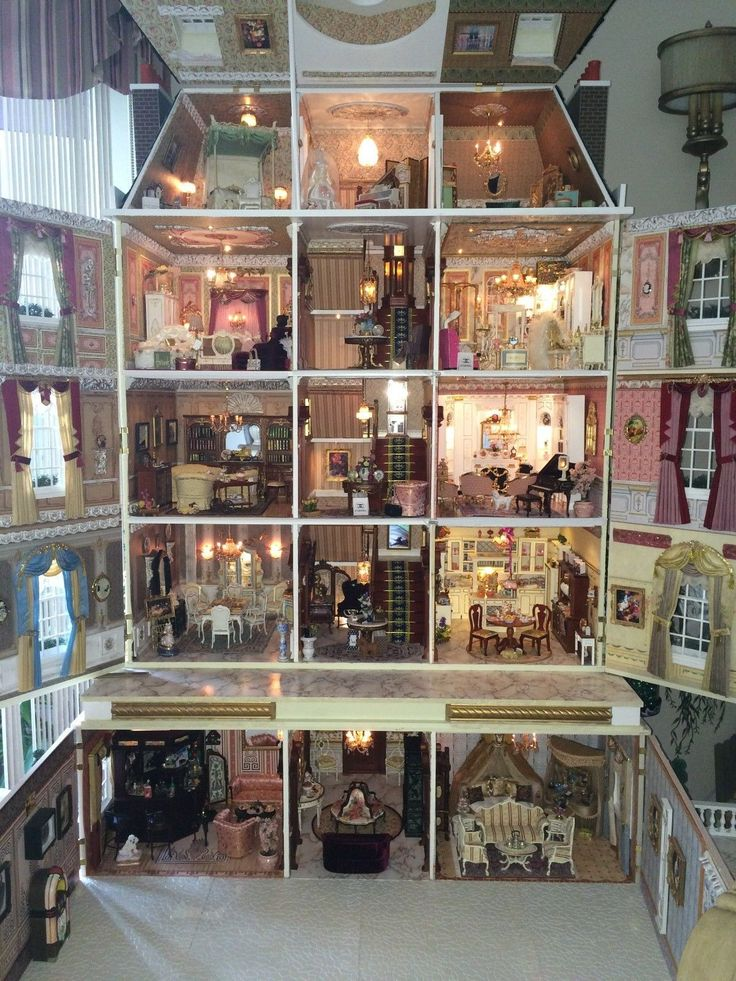 281 Best Barbie Doll Houses Images On Pinterest Doll