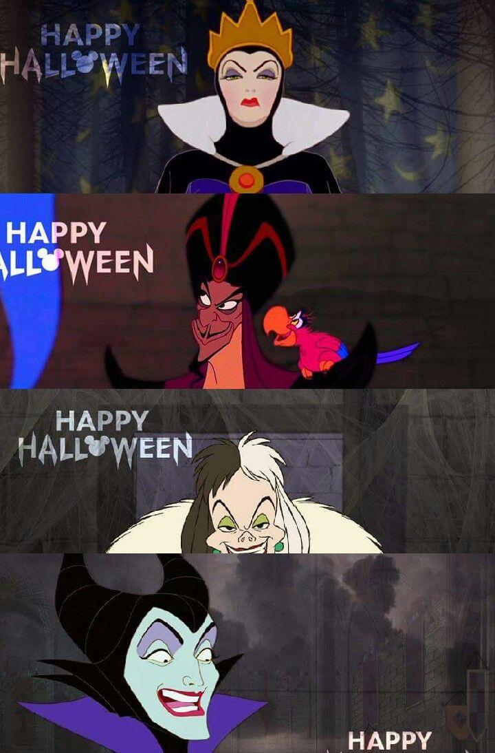 Evil Queen Jafar Cruella De Vil And Maleficent