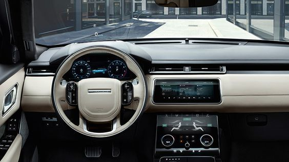 Range Rover Velar 2018. Imágenes interiores.