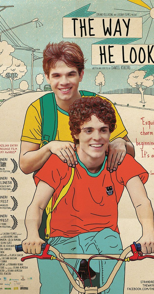 Directed by Daniel Ribeiro.  With Ghilherme Lobo, Fabio Audi, Tess Amorim, Lúcia Romano. Leonardo is a blind teenager searching for independence. His everyday life, the relationship with his best friend, Giovana, and the way he sees the world change completely with the arrival of Gabriel.