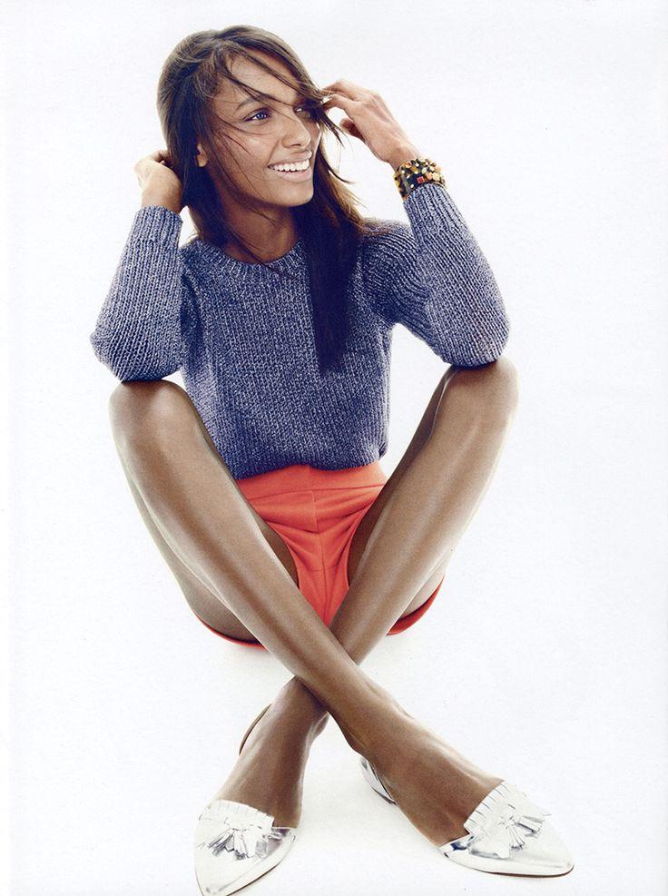 IMG Models - Jasmine Tookes | J. Crew S/S 2015