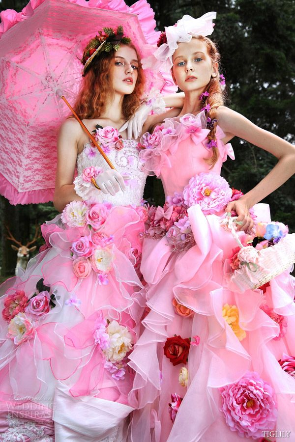 TIGLILY Spring / Summer 2015 Wedding Dresses