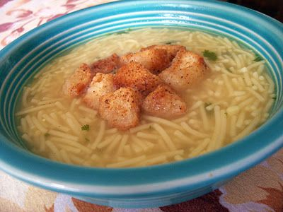 Flourishes and Bling: Lipton Noodle Soup knockoff