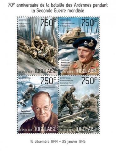генерал армии Дуайт Дэвид Эйзенхауэр (1890-1969)  - фельдмаршал Бернард Лоу Монтгомери виконт Аламейнский (1887-1976)