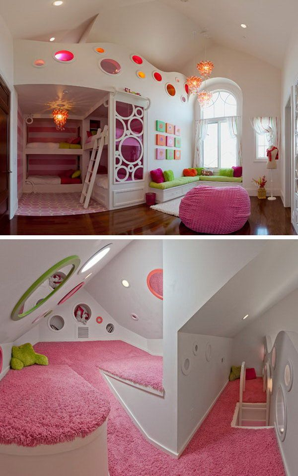 Cool Rooms For Girls best 20+ bunk beds for girls ideas on pinterest | girls bunk beds