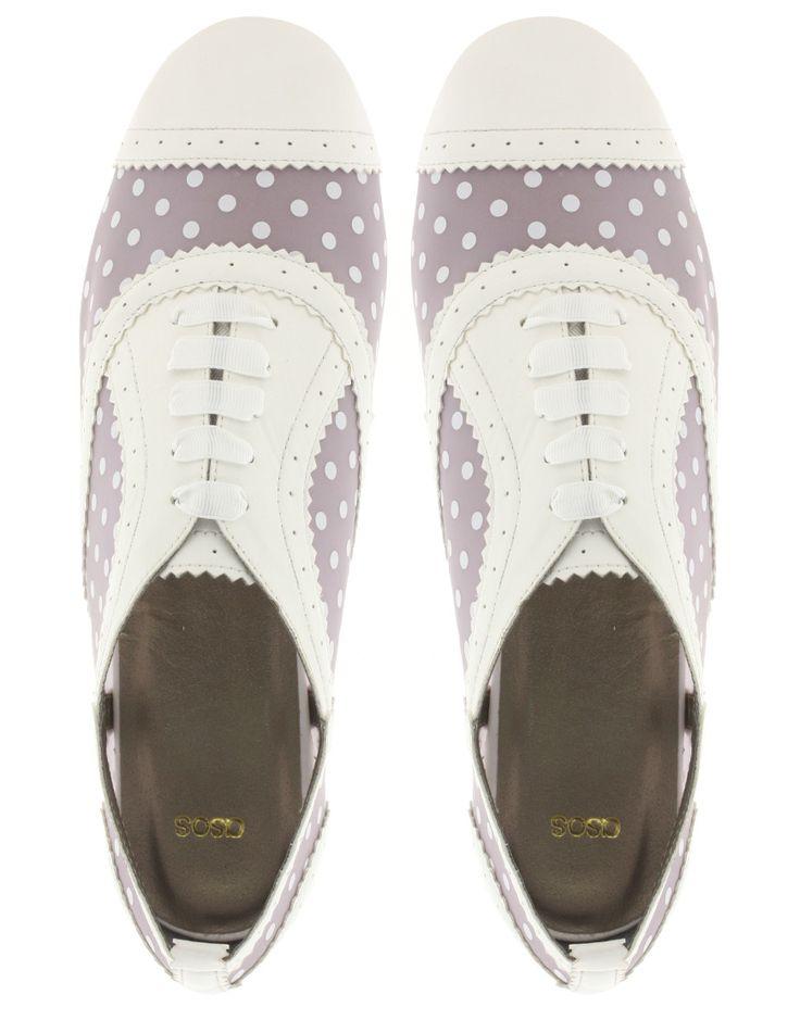 Cute Polka Dot Women's Golf Shoes!