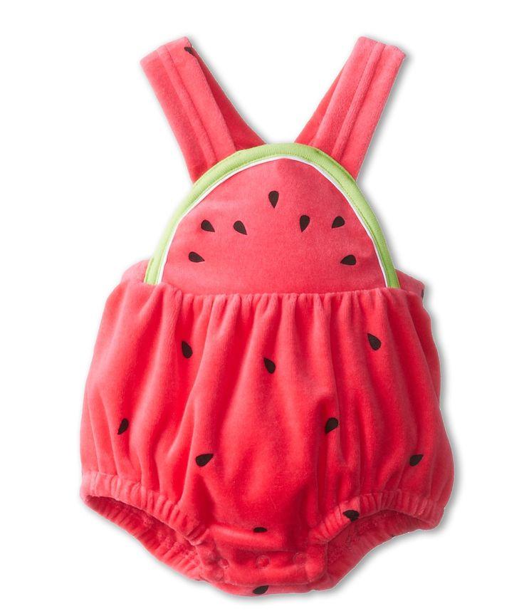 Le Top - Watermelon Velour Sun Suit