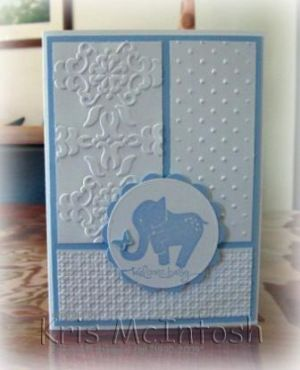 "Elephant is from the ""Animal Stories"" stamp set"