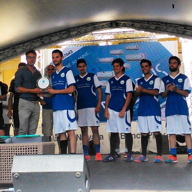 Premiati i primi classificati del #torneo di #calcio5 da #Rigoni! #novaracalcio #Fedelissimi #vanovarava