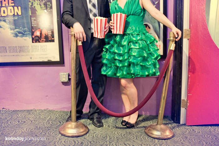 Movie Themed Wedding Centerpieces | movie theme weddings you have to have the red rope