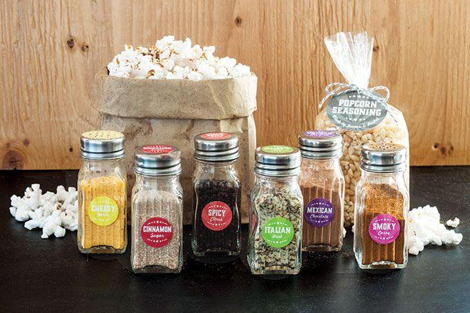 Popcorn Seasoning Kit | Evermine Blog Recipes for seasonings