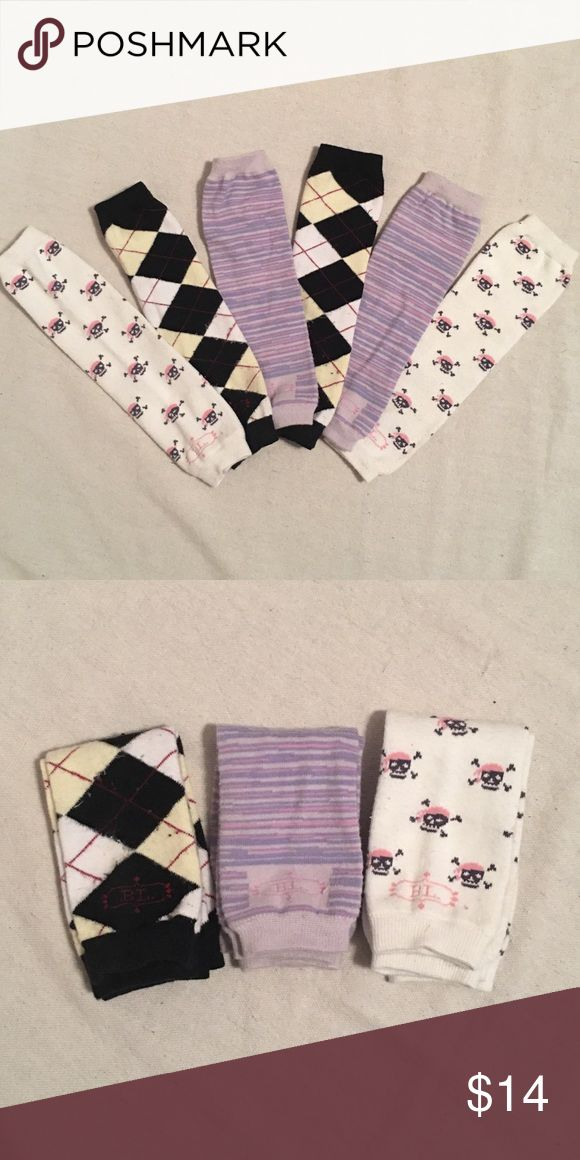 BabyLegs Legwarmers - 3 pairs 3 pairs of gently used BabyLegs. Feel free to make an offer using the offer link. Bundle 2+ listings to save more. Baby Leg Accessories Socks & Tights