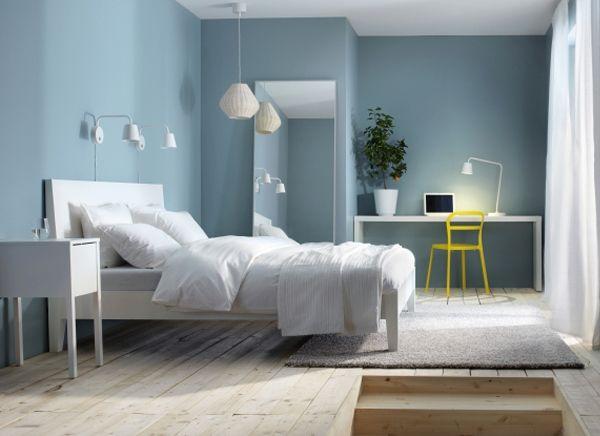 3D Slaapkameridee ikea mooie kleuren