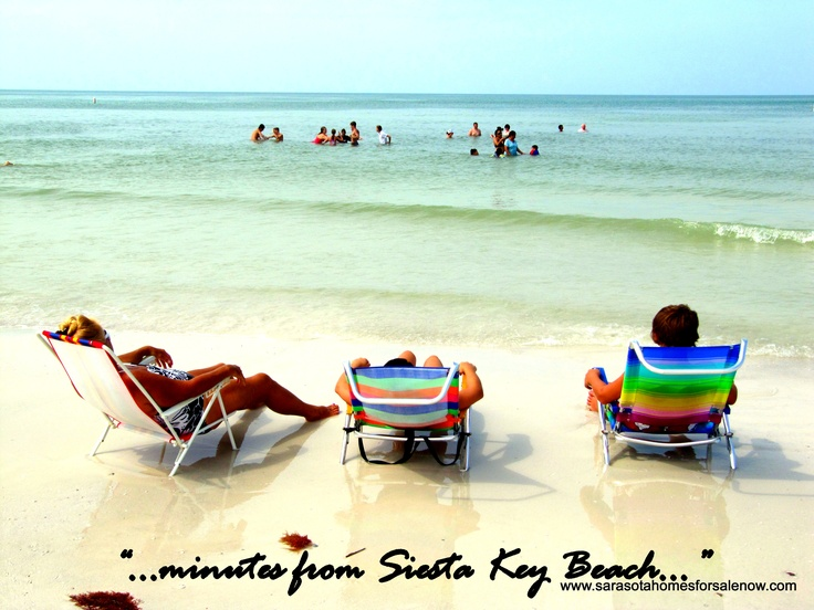 Anywhere In Sarasota Is Just Minutes From Siesta Key Beach