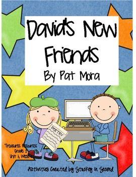 treasures resources david s new friends grade 2 unit 1 week 1 language arts