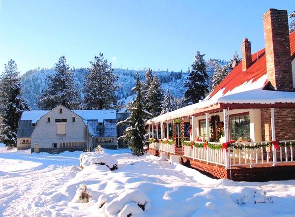 Holidays pine river ranch located in leavenworth wa for Leavenworth wa wedding venues