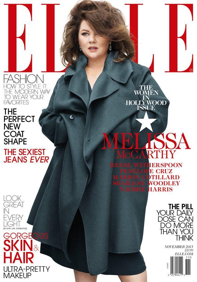 Melissa McCarthy Covers Elle Magazine
