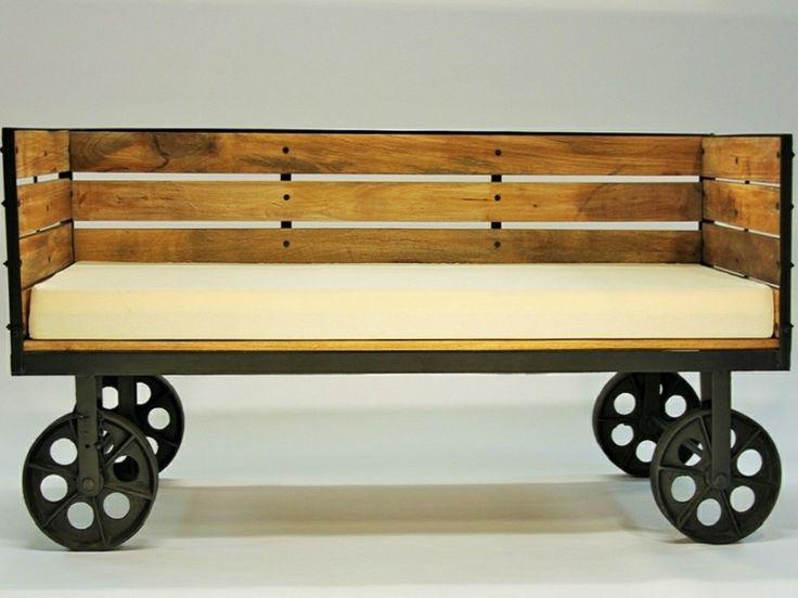 Rustic Design Sofa Bench  http://indiecompany.com