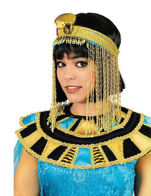 Cleopatra Kopfschmuck Ägypterin gold. Aus der Kategorie Karneval Zubehör / Mini-Hüte, Haarreif, Kopfschmuck. Wie Cleopatra höchstselbst lässt Sie dieser edle Kopfschmuck erscheinen!