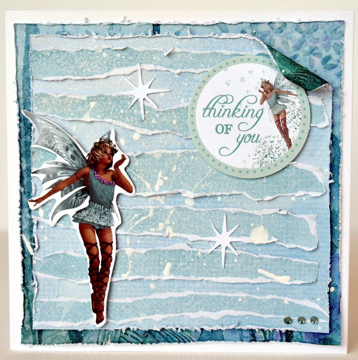 Fairy Dust card by Collette Mitrega