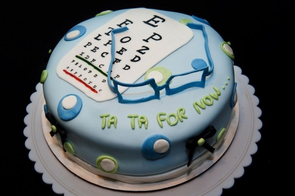 Optometrist Cake Topper