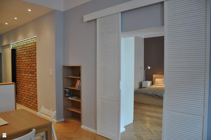 Salon styl Skandynawski - zdjęcie od NIESKROMNE PROGI - Salon - Styl Skandynawski - NIESKROMNE PROGI