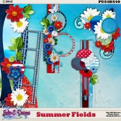 Summer Fields Borders n Corners