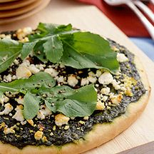 Basil, Arugula and Goat Cheese Pizza | TASTE: Now I'm Cooking | Pinte ...