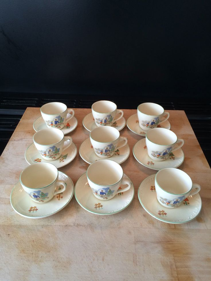 A personal favourite from my Etsy shop https://www.etsy.com/uk/listing/466038494/beswick-1930s-teaset